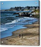 Beach Scene California  Acrylic Print