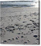 Beach, Self-named Acrylic Print