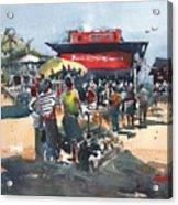 Beach Show Jamaica Acrylic Print