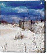 Beach Storm Acrylic Print