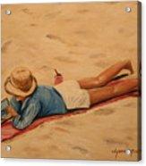 Beach Study Acrylic Print
