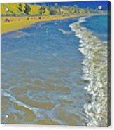Beach Summer Midday Midweek Acrylic Print