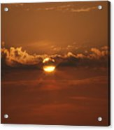 Beach Sunset 2 Acrylic Print