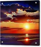 Beach Sunset 5184 Acrylic Print