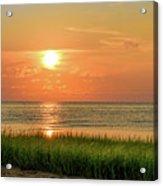 Beach Sunset Glory Acrylic Print