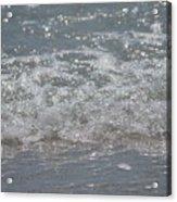 Beach Surf Acrylic Print