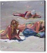 Beach Talk Acrylic Print