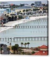 Beach Town Acrylic Print
