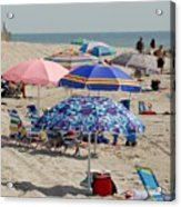 Beach Umbrella 27 Acrylic Print
