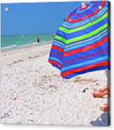 Beach Umbrella Acrylic Print