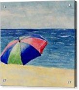 Beach Umbrella Acrylic Print