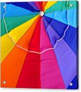 Beach Umbrella's Cell Phone Art Acrylic Print