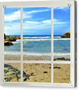 Beach View From Your Living Room Window Acrylic Print