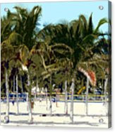 Beach Volleyball Acrylic Print