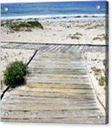Beach Walk Acrylic Print