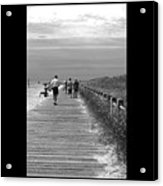 Beach Walk Acrylic Print