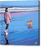 Beach Walk V.4 Acrylic Print