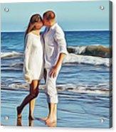 Beach Wedding Acrylic Print