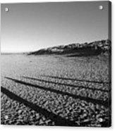 Beach With Shadows Acrylic Print