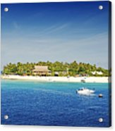 Beachcomber Island Acrylic Print