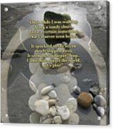 Beachcombing V2 Acrylic Print