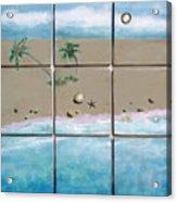 Beaches Cubed Acrylic Print
