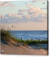 Beaches Of Outer Banks Nc Acrylic Print