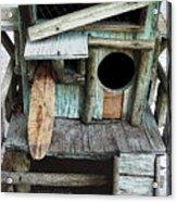 Beachfront Birdhouse For Rent 1 Acrylic Print