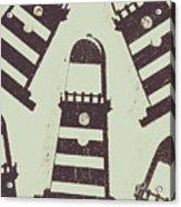 Beacon Buttons Acrylic Print