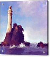 Beacon On The Rock Acrylic Print