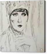 Beaded Chapeau Acrylic Print