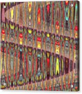 Beaded Curtain Acrylic Print