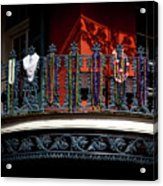 Beads In The French Quarter Acrylic Print
