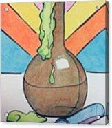 Beaker Acrylic Print by Loretta Nash