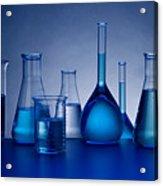 Beakers Acrylic Print