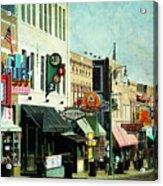 Beale Street Blues Acrylic Print
