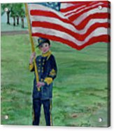 Beaming With American Pride Acrylic Print