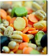 Bean Pile Acrylic Print