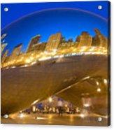 Bean Reflections Acrylic Print by Donald Schwartz