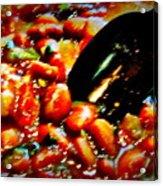 Beans Acrylic Print