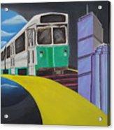 Beantown Transit Acrylic Print