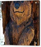 Bear Art Acrylic Print