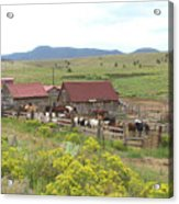Bear Basin Ranch Acrylic Print