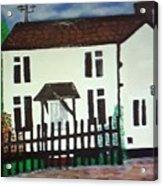 Bear Cottage Acrylic Print