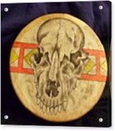 Bear Drum Acrylic Print