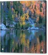 Bear Lake Colorado Poster Acrylic Print