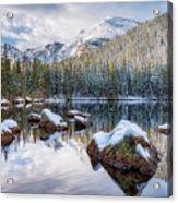 Bear Lake Holiday Acrylic Print