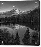 Bear Lake In Black And White Acrylic Print