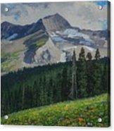 Bear Peak Acrylic Print