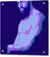 Beard Acrylic Print